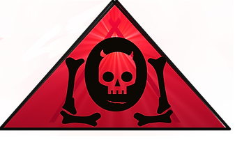 The Lowest of Low red triangle skull logo kawaii cute devil goat symbol band electronic music Italian Sicilian streetwear fashion design music