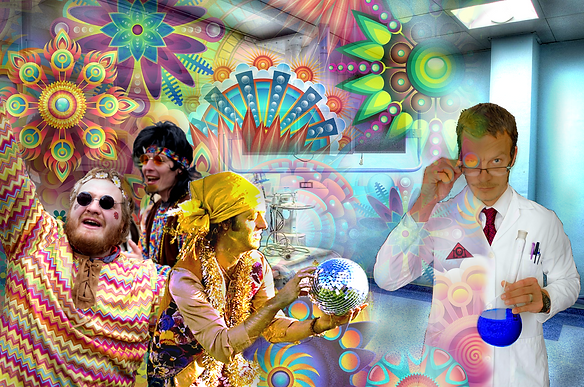 The Lowest of Low Clinical Observational Studies of Fuckin' Hippies on psychedelic drugs art image