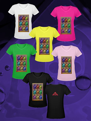 "THE LOWEST OF LOW Snake Oil Pop Art ""Warhol Array"" T-Shirts (Gildan) all colors"