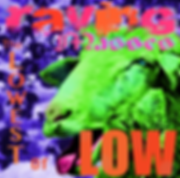RavingMasses album cover green sheep purple goats The Lowest of Low debut album 2017