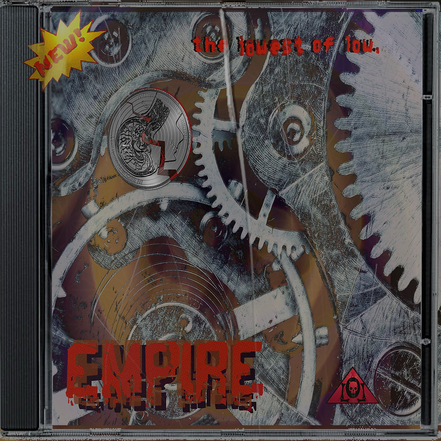 The Lowest of Low Empire album CD red