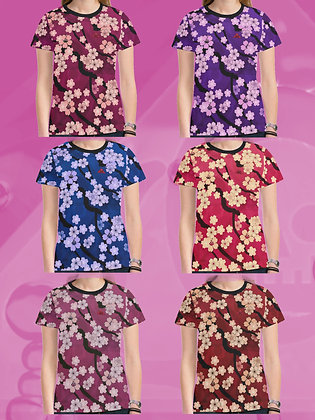 Sakura Breeze Ladies T-shirts