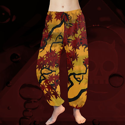 Maple 2020 Chiffon Harem Pants