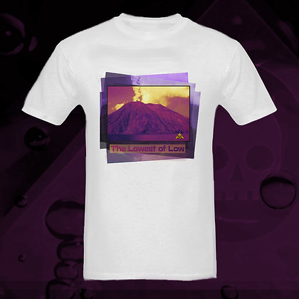 The Lowest of Low Stromboli Volcano 100% Cotton T-shirt 5 colours Bianco White US sizes S - 3XL