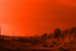 The Lowest of Low Orange Sicilian Landscape Future Post-apocalyptic Earth or Mars