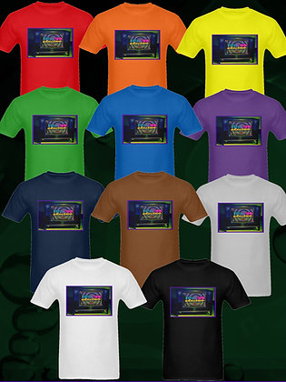 FutureRetro Electro Records Vintage TV SET T-shirts in all colors of the rainbow, and more!