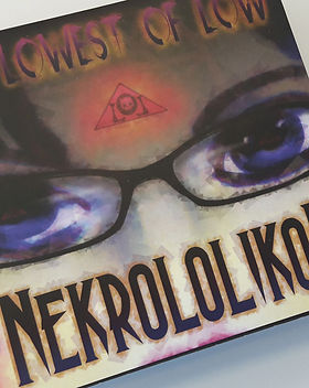 The Lowest of Low Nekrololikon Deluxe CD Digipack Digipak Collectors double cd set CD