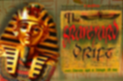 Graveyard Drift Promo Voodoo Radio Egyptian sarcophagus King Tut-ankh-amon winged beetle hieroglyphs The Lowest of Low podcast