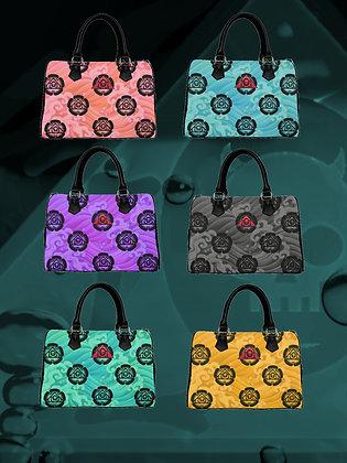 Kamon Acqua Logo Boston Handbags
