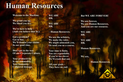 Human Resources Lyrics Sheet