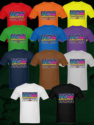FutureRetro Electro Records plain logo T-shirts in all colors of the rainbow, and more!