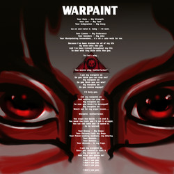 Warpaint Lyrics Sheet
