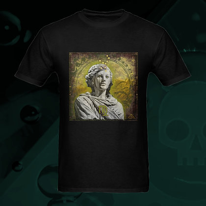 The Lowest of Low Virgo the Virgin Astrology Zodiac sign 100% Cotton T-shirt front esoteric colors US Sizes S M L XL 2XL 3XL