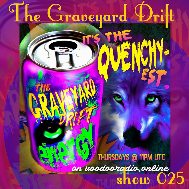 Graveyard Drift Radio Show Mixcloud 25 image Voodoo The Lowest of Low podcast