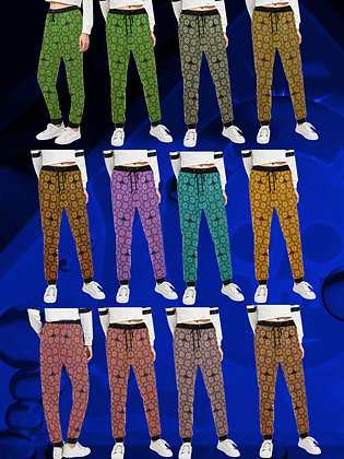 The Lowest of Low Medieval Roses street style designer ladies sweatpants wild colors