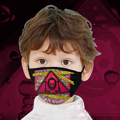 The Lowest of Low Pericolo danger face mask washable high quality adults and children stylish necessities