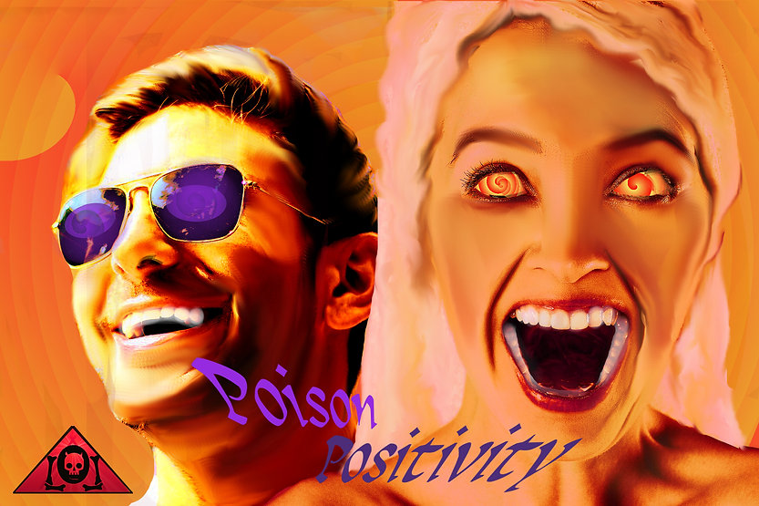 The Lowest of Low Poison Positivity Lyrics Sheet Empire album music toxic narcissism in advertising art image