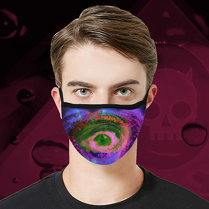 The Lowest of Low Mind's Eye Face Mask fully washable reuseable cool design 3 sizes