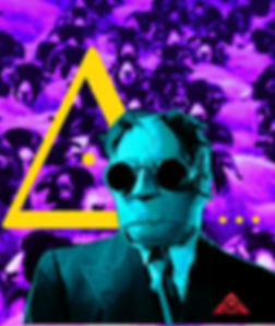 The Lowest of Low Invisible Man eye in the triangle purple sheep goats the WOB w.o.b The Graveyard Drift artist image Voodoo Radio music musician who are we ID art
