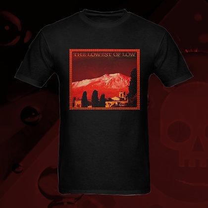 The Lowest of Low Mount Etna 100% Cotton T-shirt 5 colours US sizes S - 3XL Nero (Black)