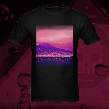 The Lowest of Low Vesuvius (Monte Vesuvio) 100% Cotton T-shirt 5 colours US sizes S - 3XL Nero (Black)