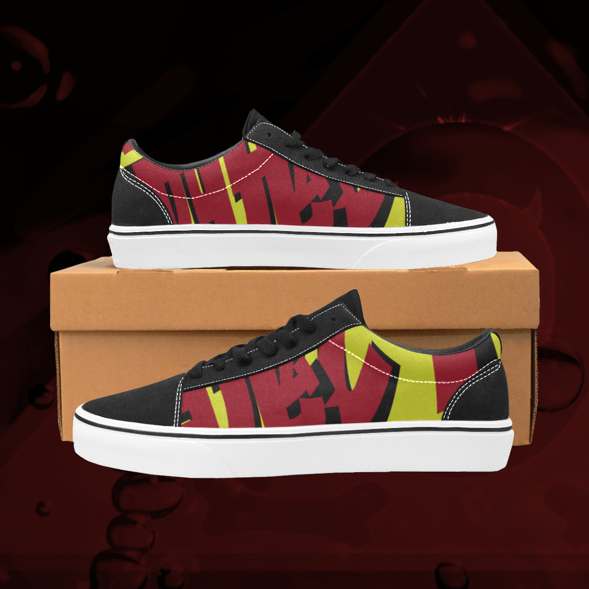UGLY logo low top skate shoes The Lowest of Low