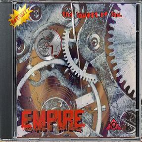 The Lowest of Low Empire Album Cover broken cd case worn gears broken mind image