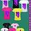 Japanese Banner Poster Classic Ladies' V-Neck Cotton T-Shirt (Gildan)