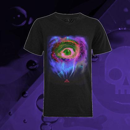 Mind's Eye V-neck T-shirt, front