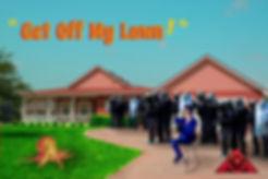 The Lowest of Low Get Off My Lawn Lyrics Sheet Empire music album art image suburbia octopus businessman riot gear
