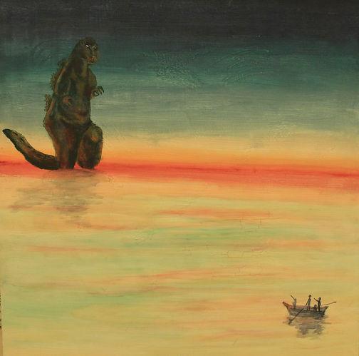 Gojira Sunset.JPG