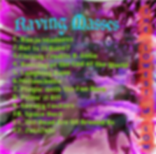 Raving Masses debut album The Lowest of Low track listing electronic music