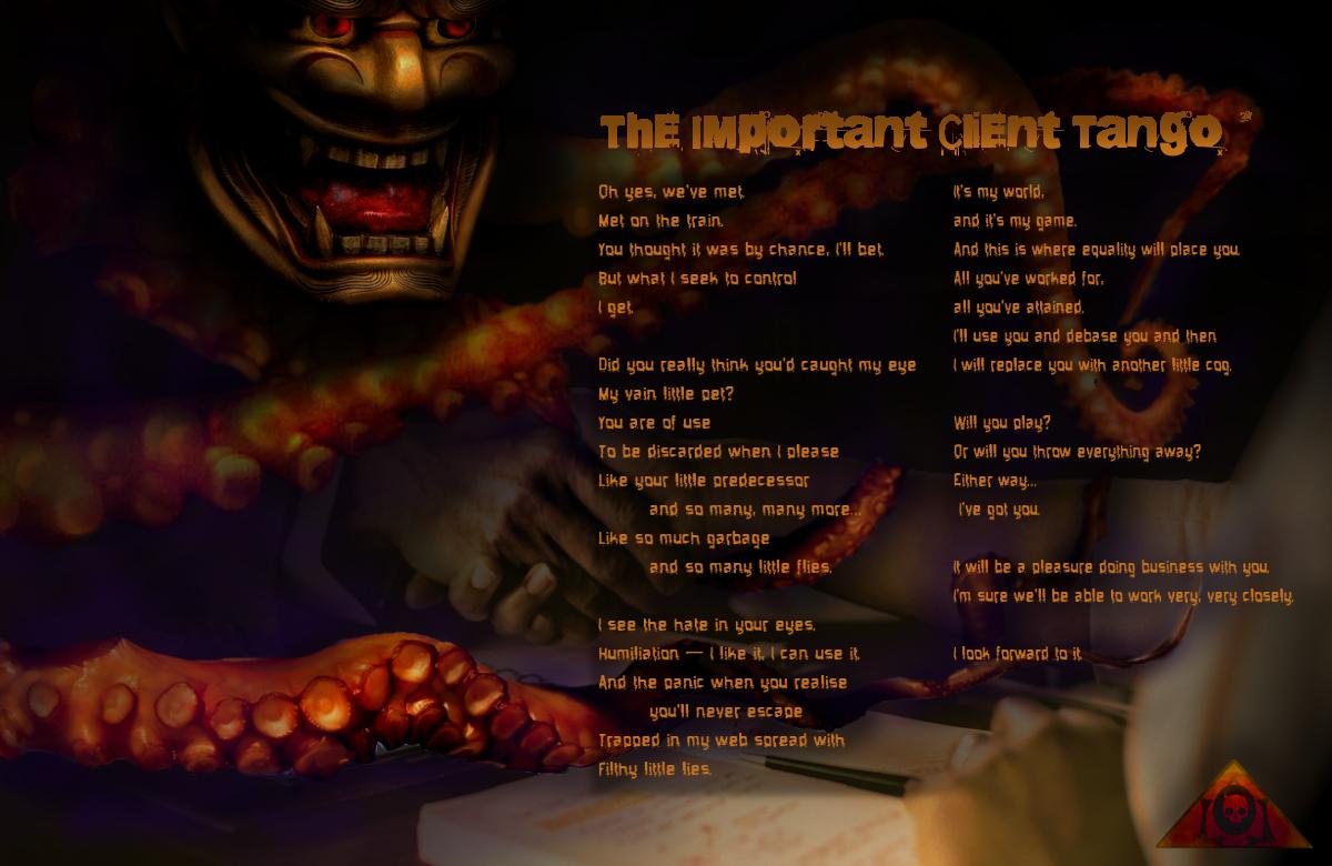 Important Client Tango Lyrics Sheet