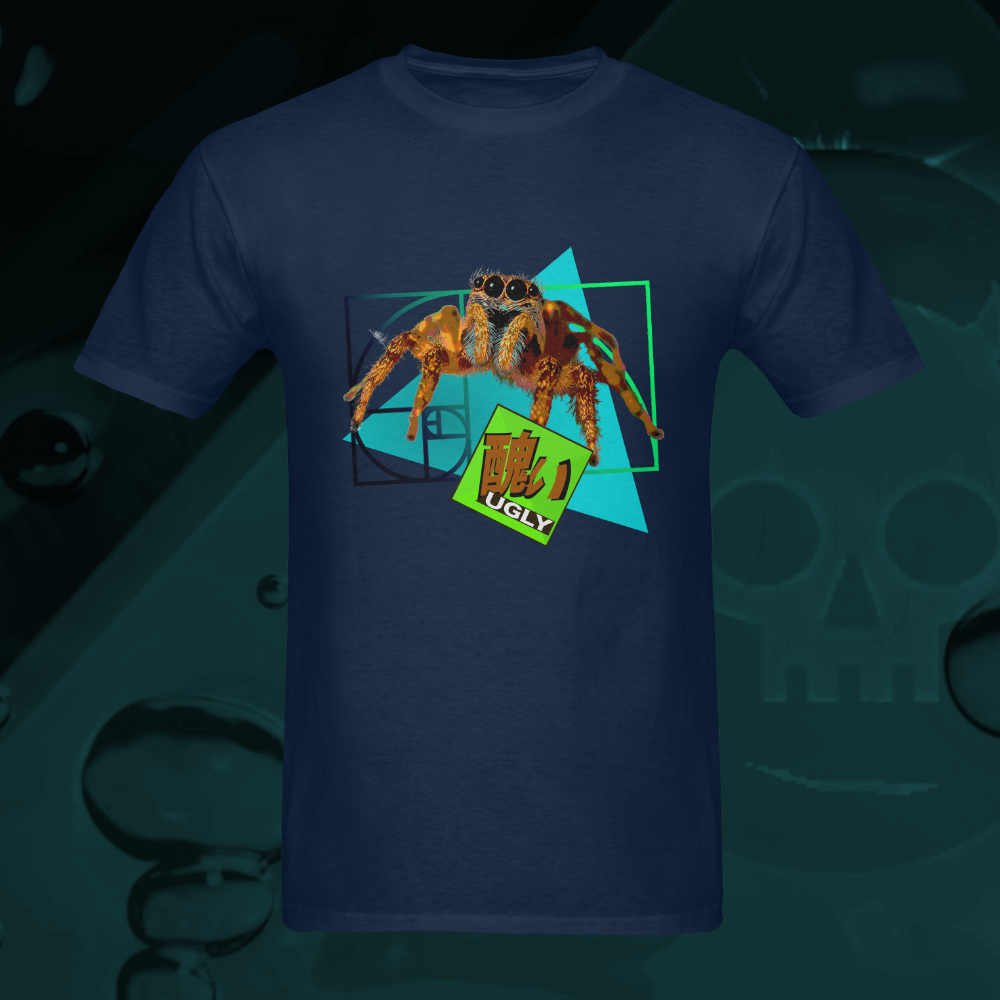 UGLY hairy spider t-shirt The Lowest of Low