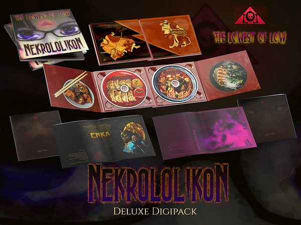 The Lowest of Low Nekrololikon Deluxe Di