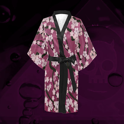 The Lowest of Low Sakura Breeze Kimono 2020 robe dressing gown cover up wrap dress haori cosplay loungewear Peaceful Plum