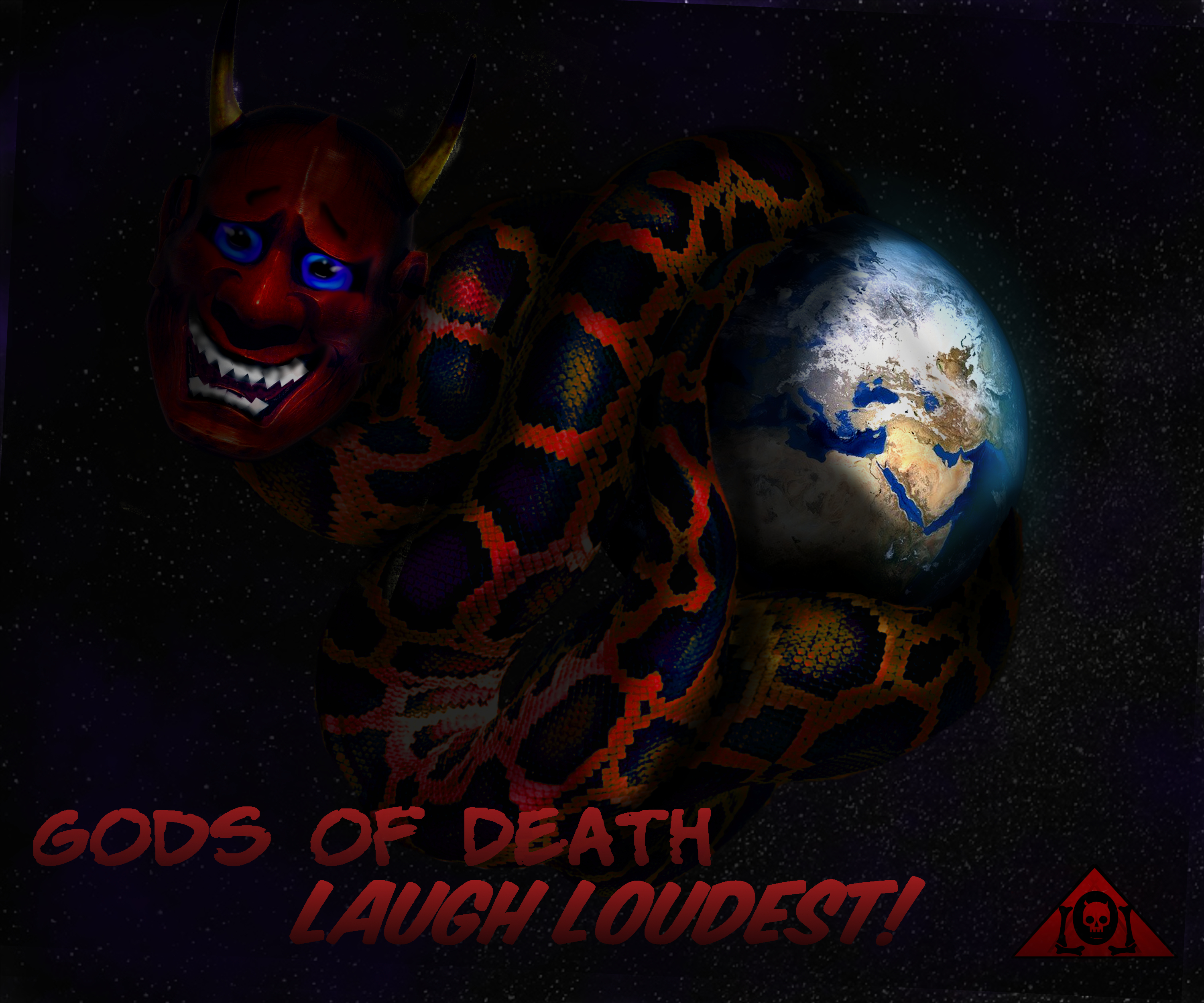Gods of Death Laugh Loudest Lyrics Sheet