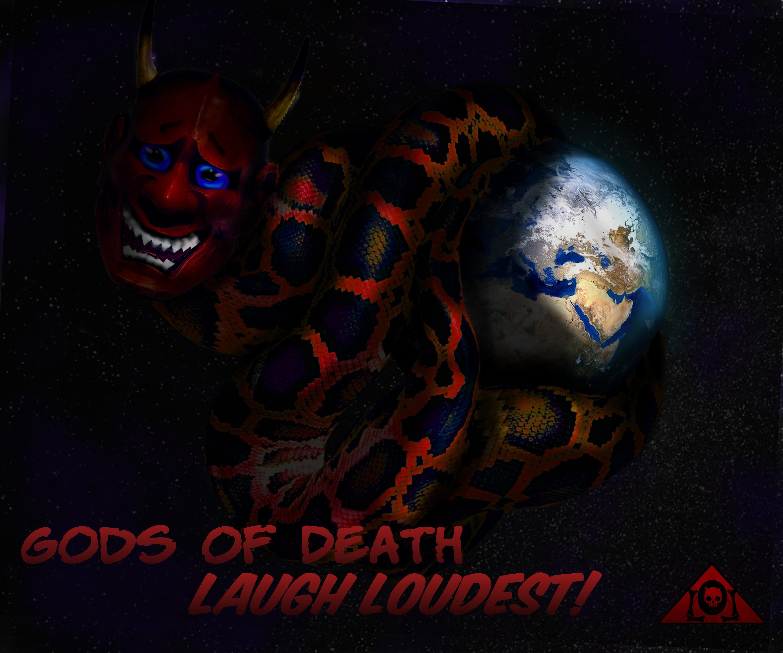 Gods of Death Laugh Loudest Lyrics Sheet