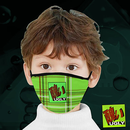 UGLY Lime protective face mask adult child infant from The Lowest of Low kids