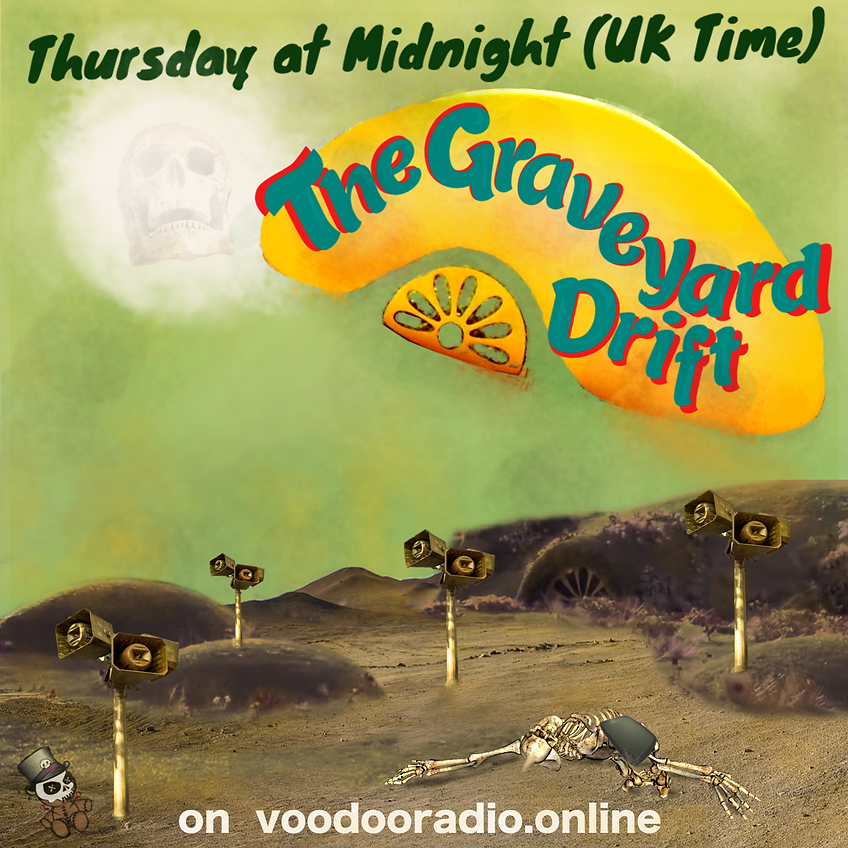 Graveyard Drift Teletubbies 2019 voodoo radio parody promo environmental degradation erosion global warming extinction radio show promo The Lowest of Low podcast