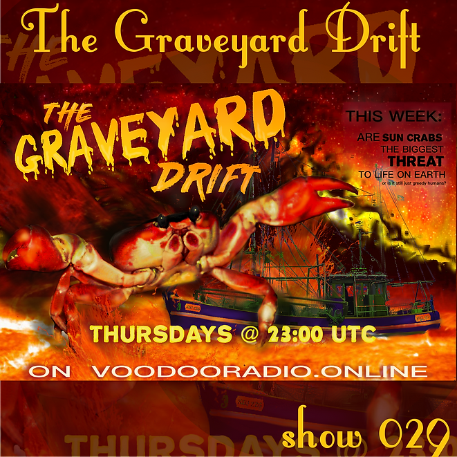 Graveyard Drift Radio Show Mixcloud 29 image Voodoo The Lowest of Low podcast