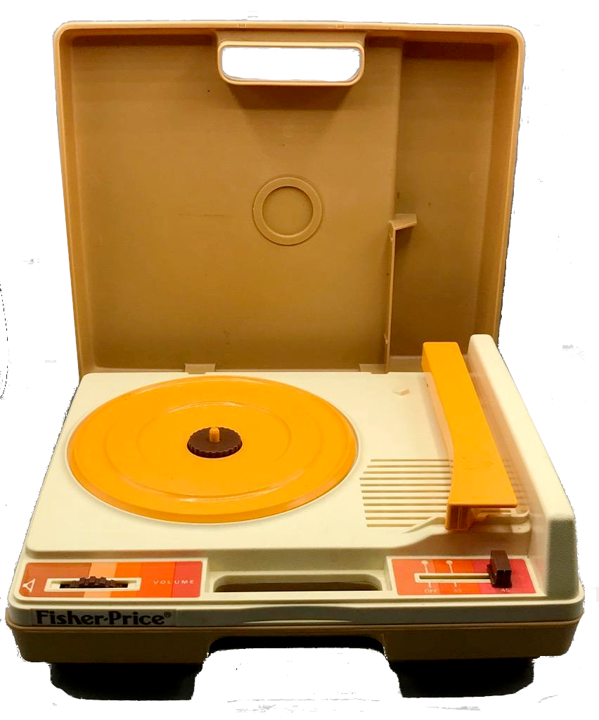 1970s vintage Fisher Price record player phonograph turntable