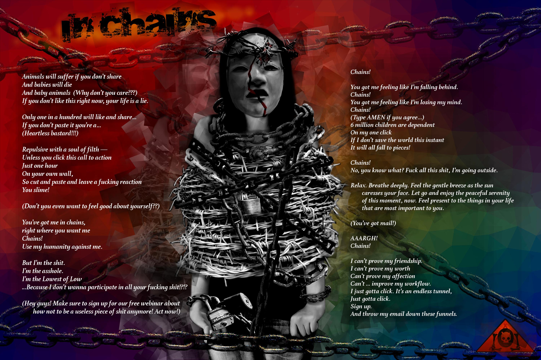 In Chains Lyrics Sheet