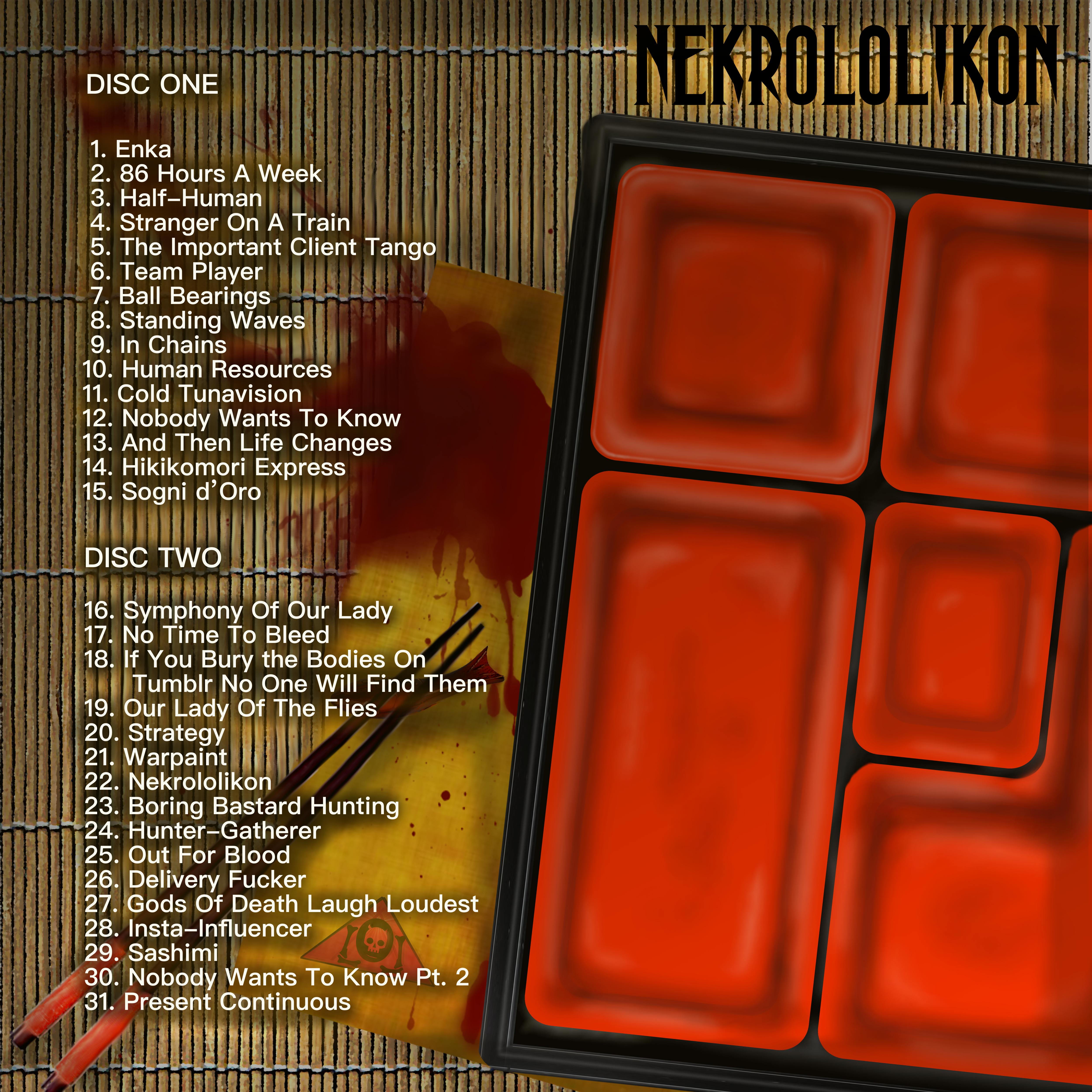 NekrololikonTracklist