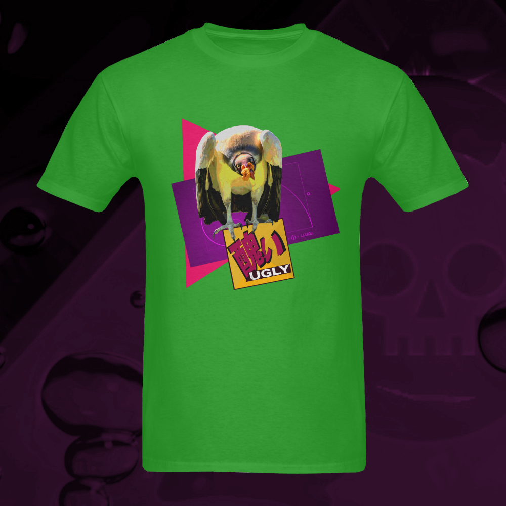 UGLY Vulture t-shirt Lime The Lowest of Low