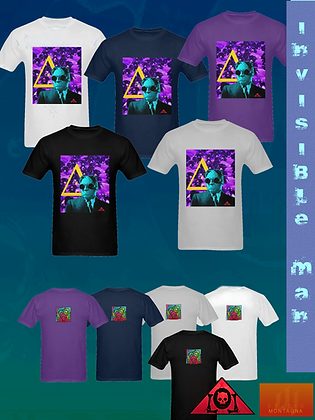 Invisible Man Art T-shirts