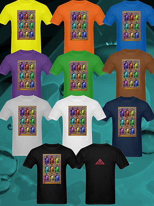 """THE LOWEST OF LOW Snake Oil Pop Art """"Warhol Array"""" T-shirts"""