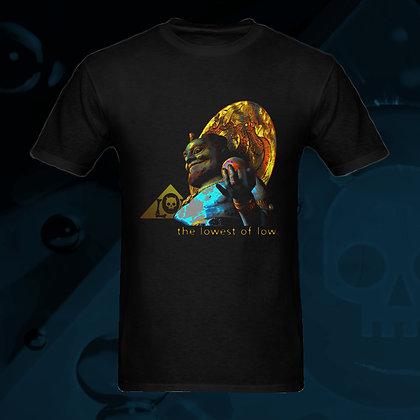 The Lowest of Low Nekrololikon Tenryu 100% Cotton T-shirt US Sizes S, M, L, XL, 2XL, 3XL dragon guardian vibrant colors front