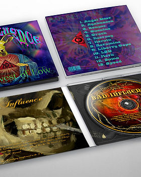 The Lowest of Low Bad Influence deluxe edition collectors cd digipack digipak