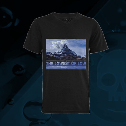 The Lowest of Low Matterhorn Switzerland Famous Mountain 100% cotton v-neck t-shirt